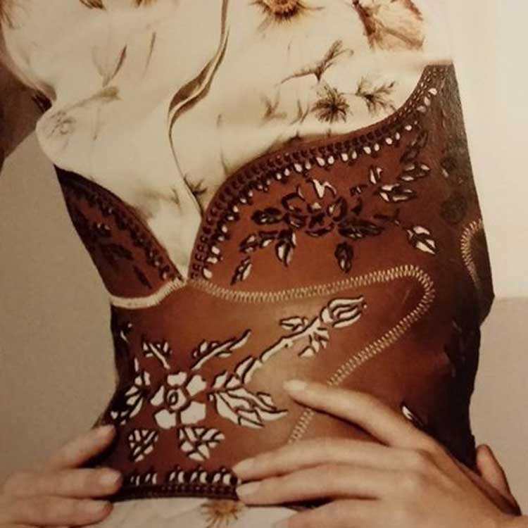 Leather corsets 2015