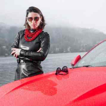 Ford Mustang GT V8 Gracie Opulanza fendi, leather dress 2015 (14)