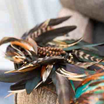 Peacock feathers Hair Extensions