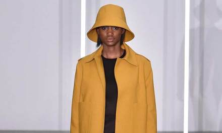 Jasper Conran AW16 – Ochre Colour Stands Out