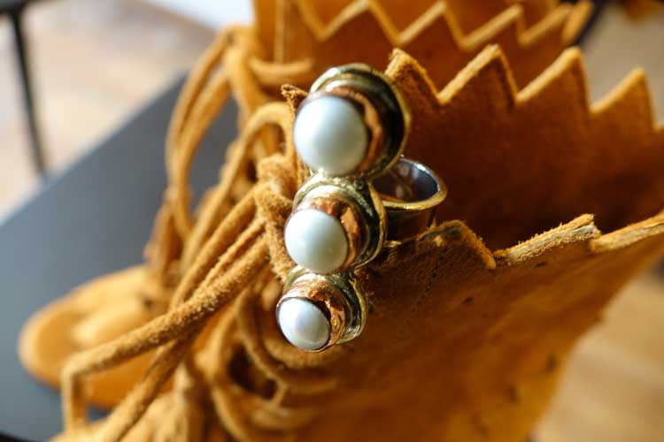 Indonesian Jewelry – Gem Stone, Gold Plated, Silver & Onyx