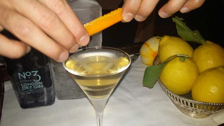 Martini Is Not To Be Shaken Nor Stirred