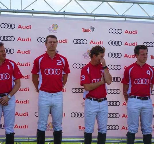 Audi Polo - HRH The Duke of Cambridge and Prince Harry
