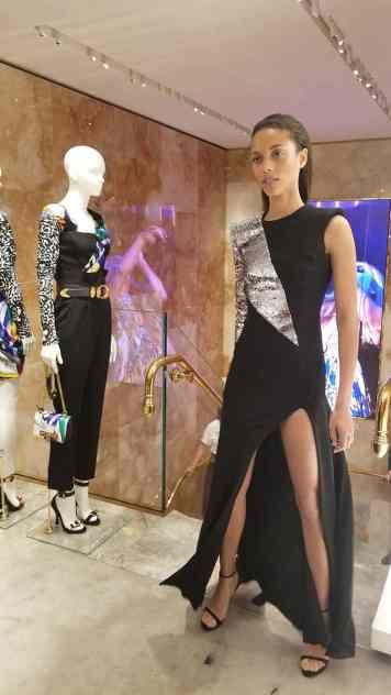 Versace 2018 Catwalk London Gracie Opulanza (10)