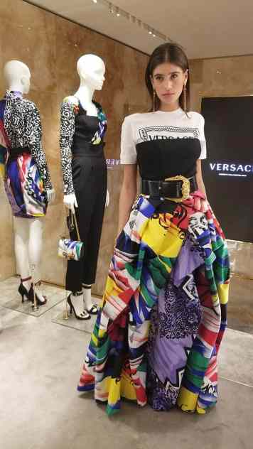 Versace 2018 Catwalk London Gracie Opulanza (3)