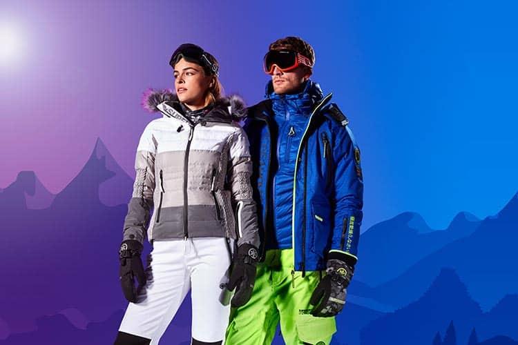 Superdry Women's Snow Cat Ski Down Jacket