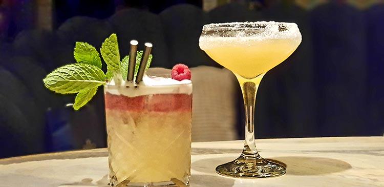 Cocktail trends and bamboo straws