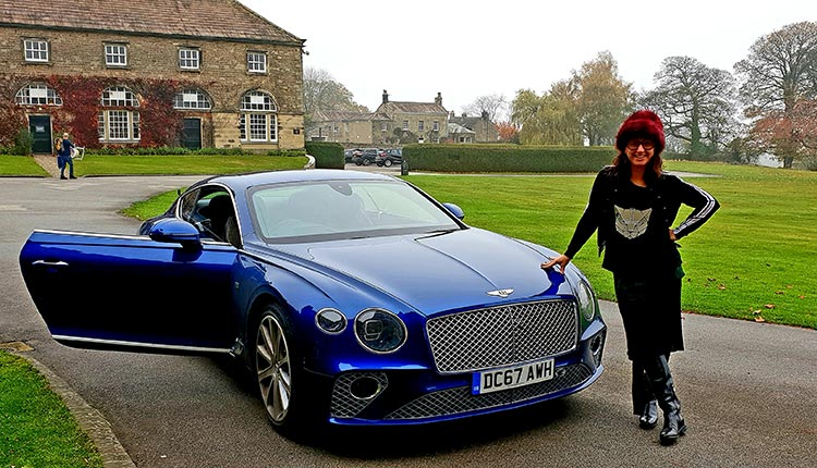 Bentley GT Gracie Opulanza Car review lifestyle