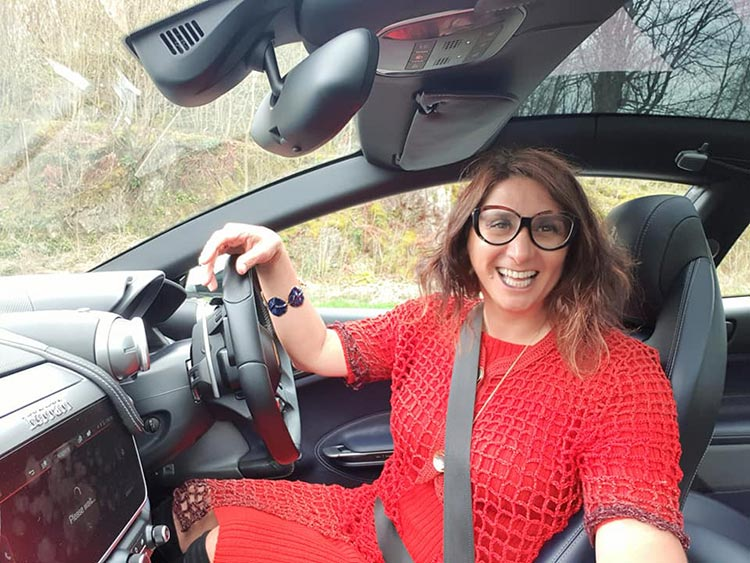 Mihaelamarkovic GIA Dress Red Gracie Opulanza (3) Ferrari