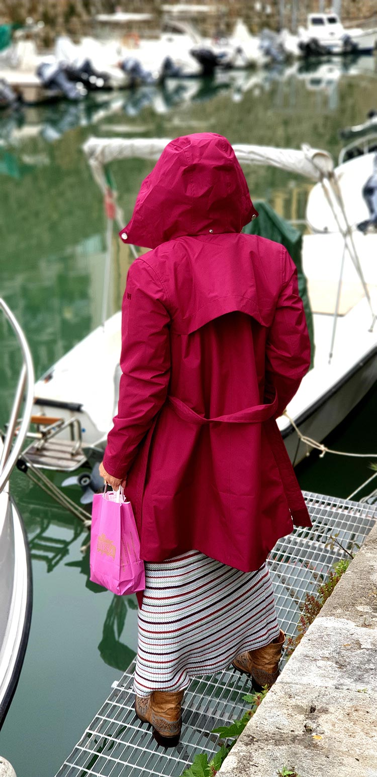 Helly Hansen Women's Welsey Ii Waterproof Rain Trench Coat with Hood Gracie Opulanza Italy (1)