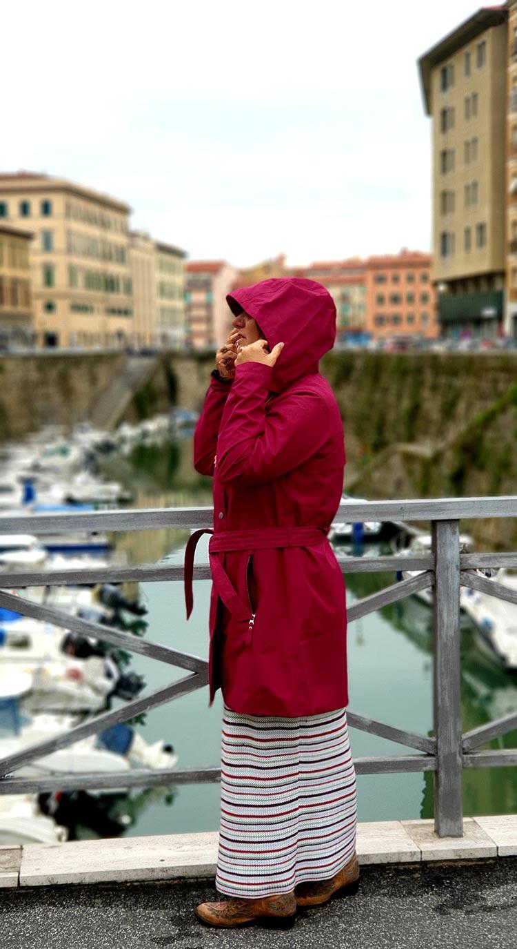 Helly Hansen Women's Welsey Ii Waterproof Rain Trench Coat with Hood