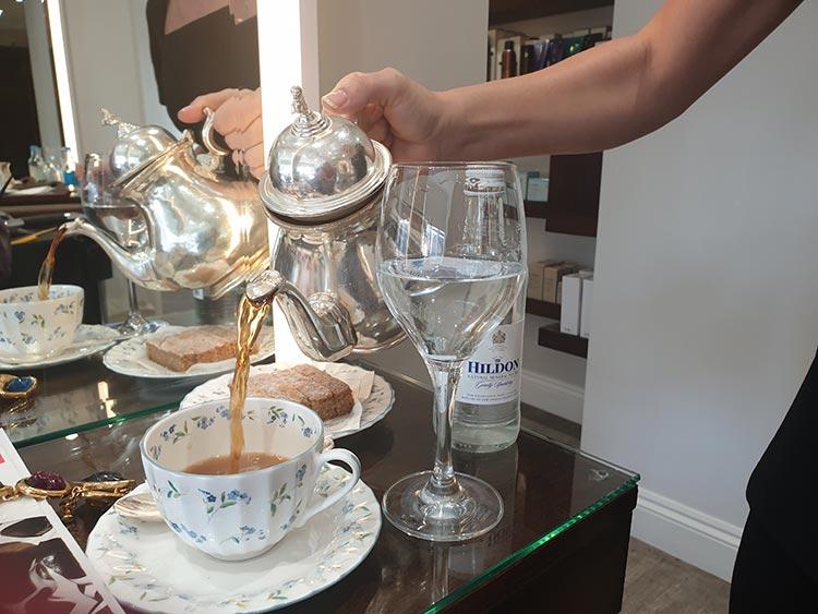 Hiro Miyoshi Hair And Beauty - The Ritz London 2019 Gracie Opulanza United Kingdom (20)Tea