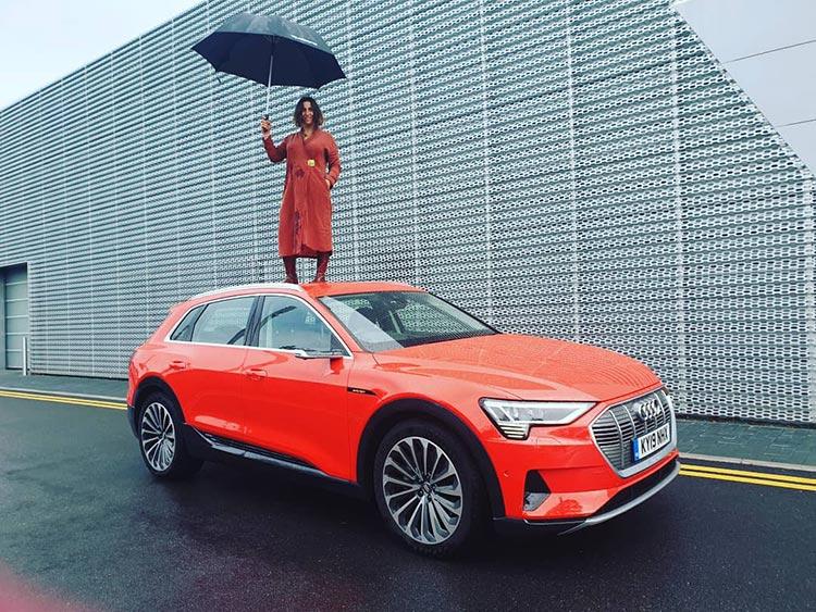 Gracie Opulanza ETron Audi Umbrella 2019 (2)