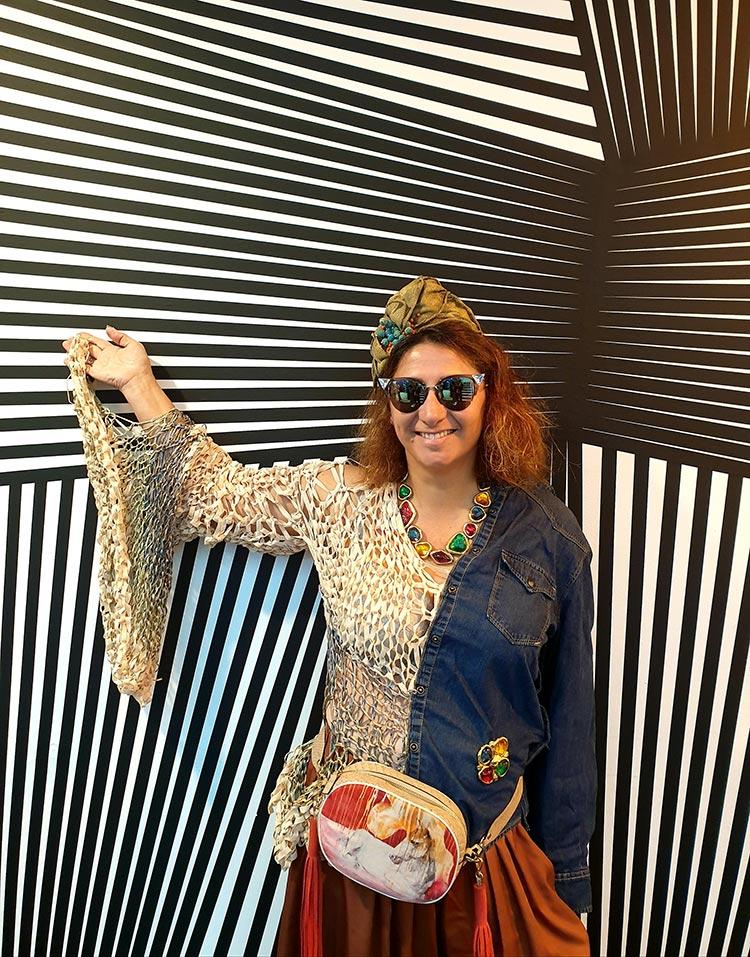 Gracie Opulanza Sustainable Fashion London Fashion week 2019 Fendi