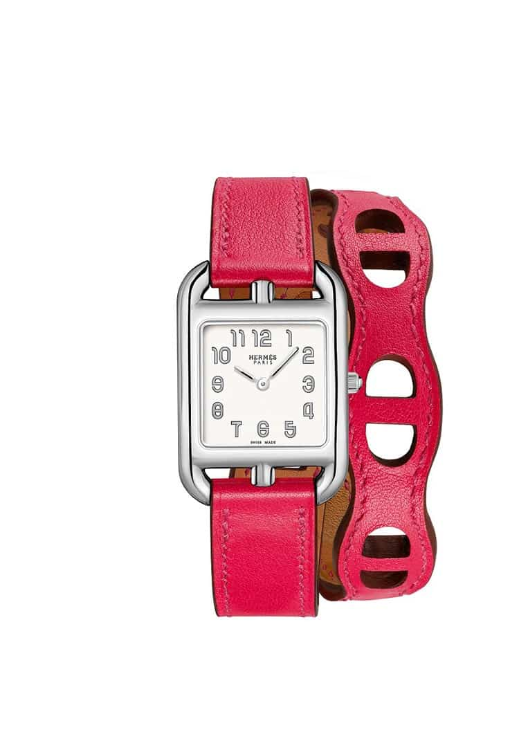 NEW-Hermes-Cape-Cod-PM-Chaine-d'ancre---Rose