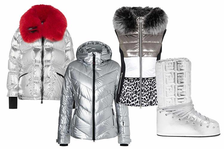metallic skiwear 2021