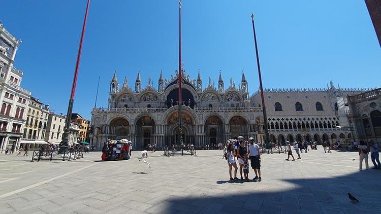 Piazza San Marco venice 2020 covid 19 summer july gracie opulanza italy (1)
