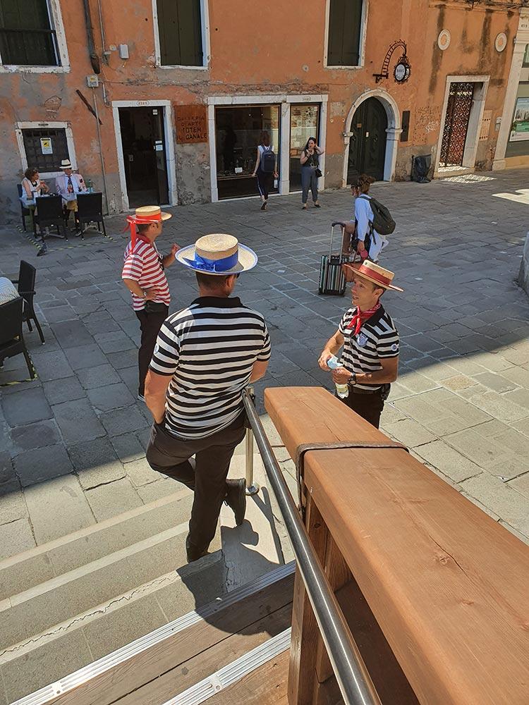 Venice 2020 covid 19 condola italy summer gracie opulanza