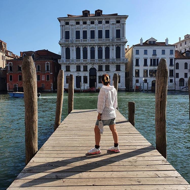PUMA trainers Venice Gracie Opulanza travel 2020