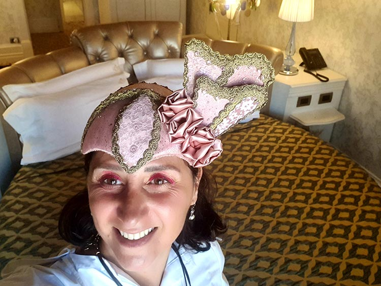 Venice - Head Piece Art Gracie Opulanza summer 2020 Italy Ego Boutique Hotel (9) Imperial Suite