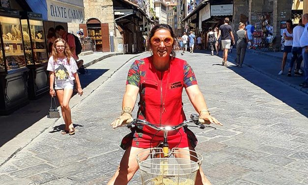 Ferrari Red Jumpsuit – Florence Street Style