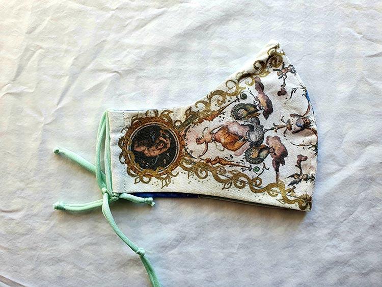 Masks Florence Italy - Uffizi Gallery Inspired Collection Angela Facchini Etsy (4)