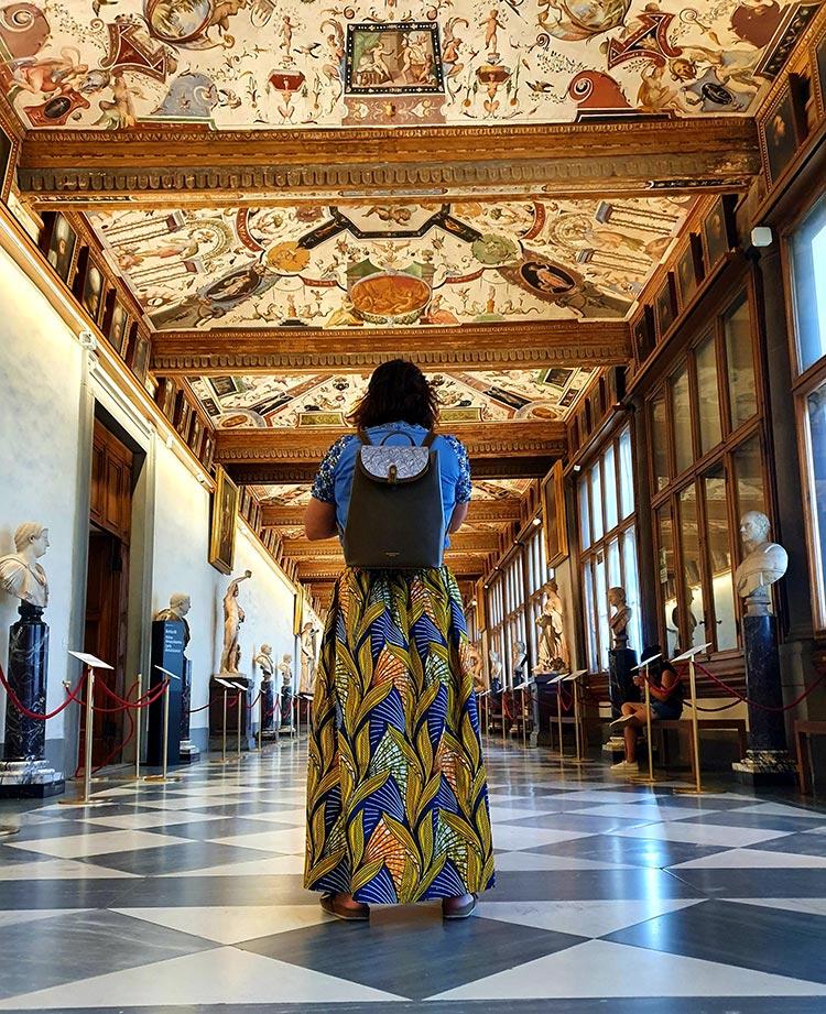 Uffizi Gallery Florence Italy Gracie Opulanza 2020