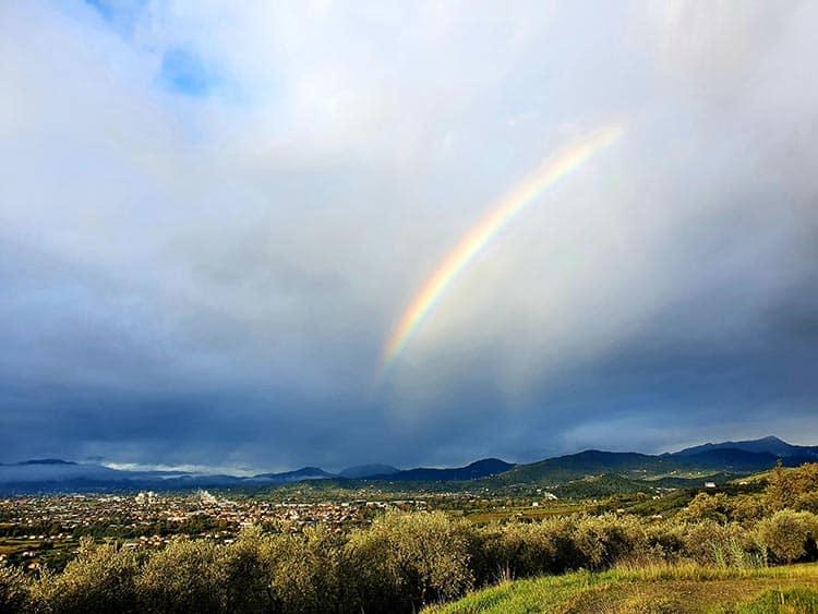 Lucca Italy 2020 rainbow