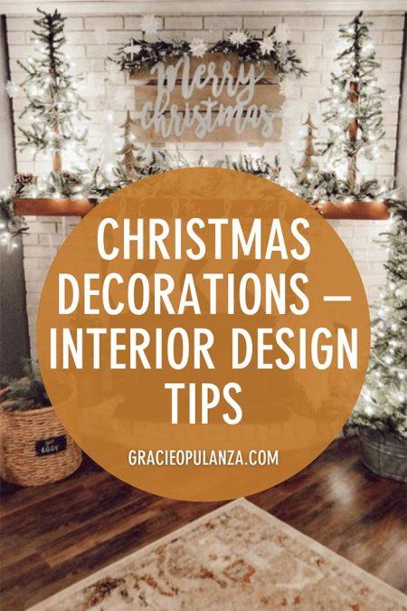 Christmas decorations interior design tips