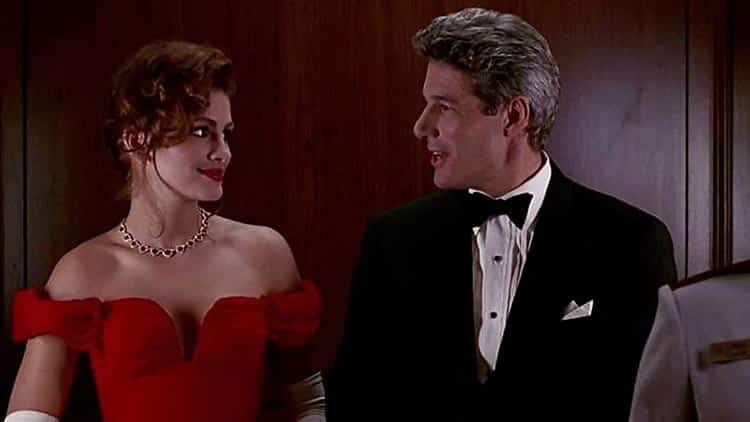 Pretty woman Julia roberts 1980s fashion red dress