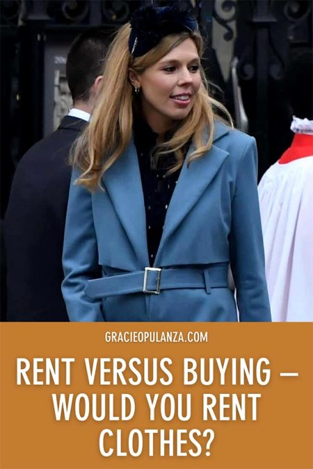 Rent versus Buying would you rent clothes