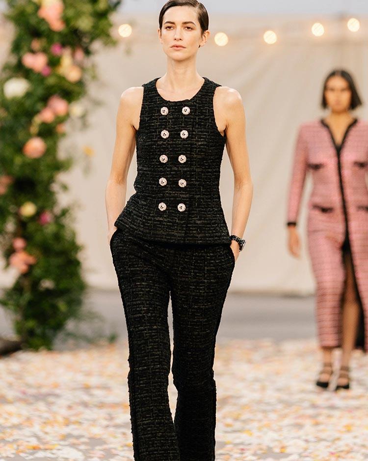 Chanel wool tweed 2021 suit