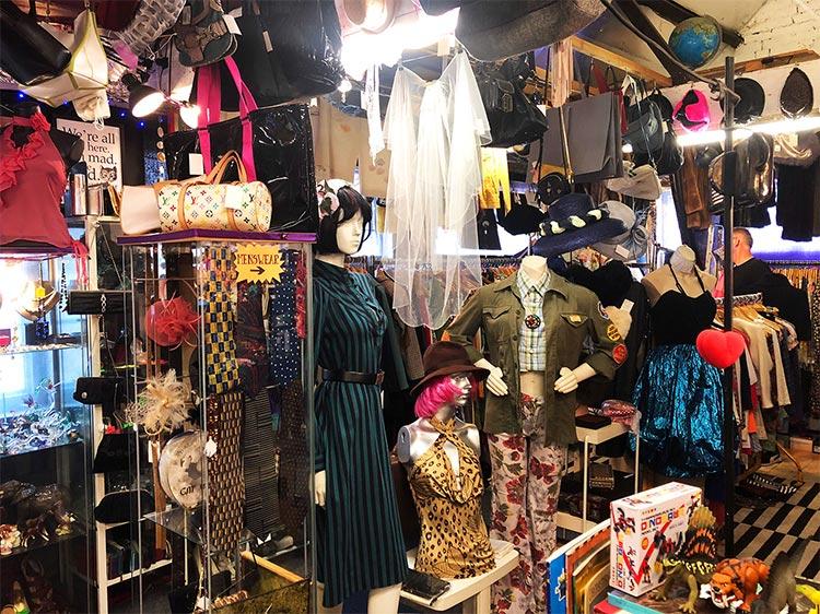 Hayes london market vintage fashion