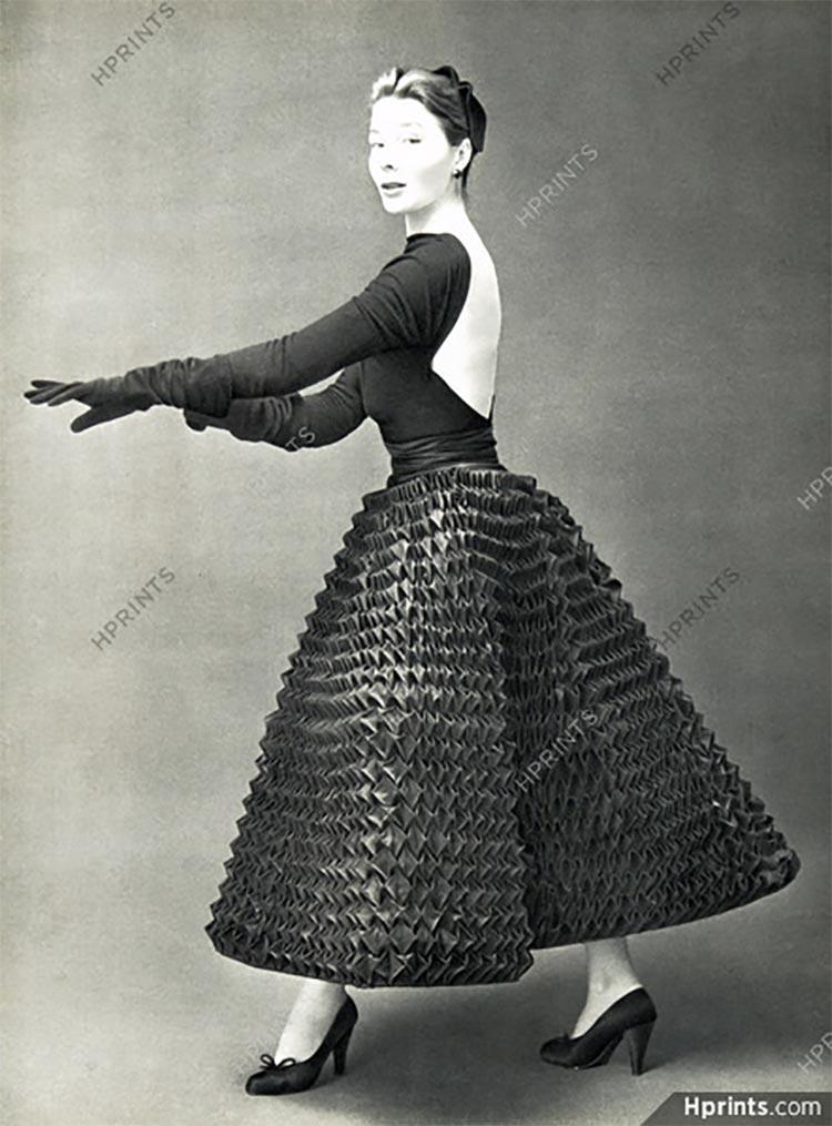 givenchy Vintage dress 1950