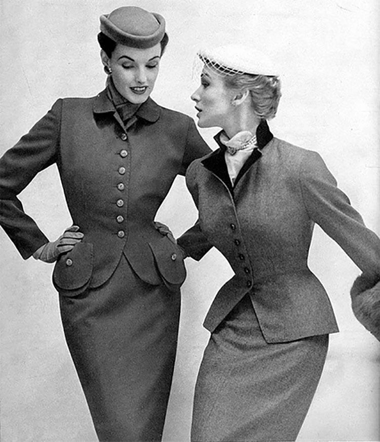 vintage womens suits