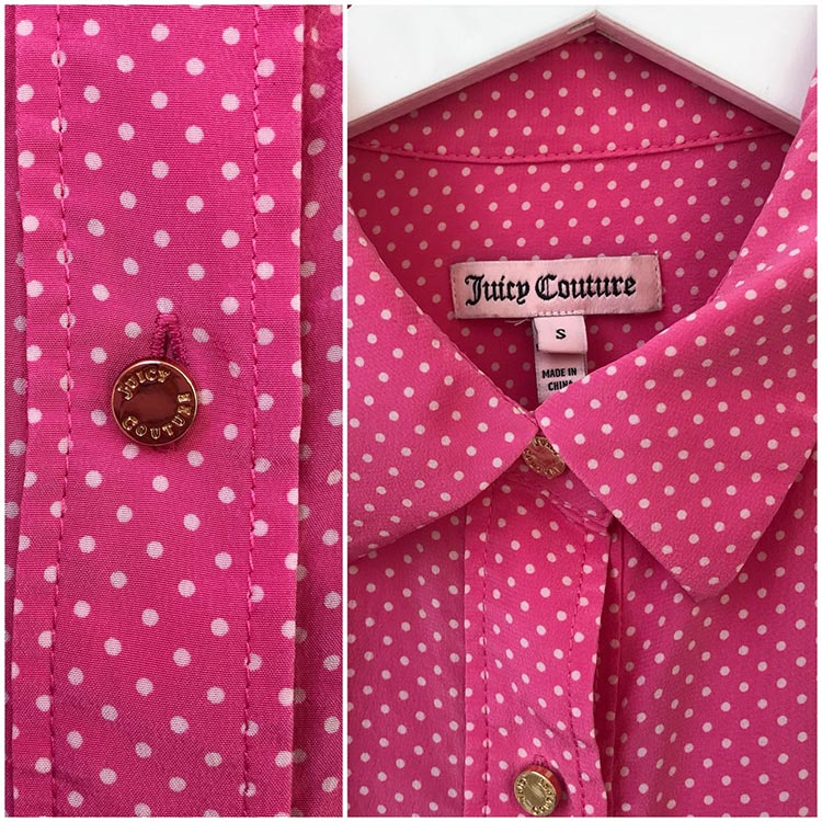 Juicy Couture Polka Dot Dres