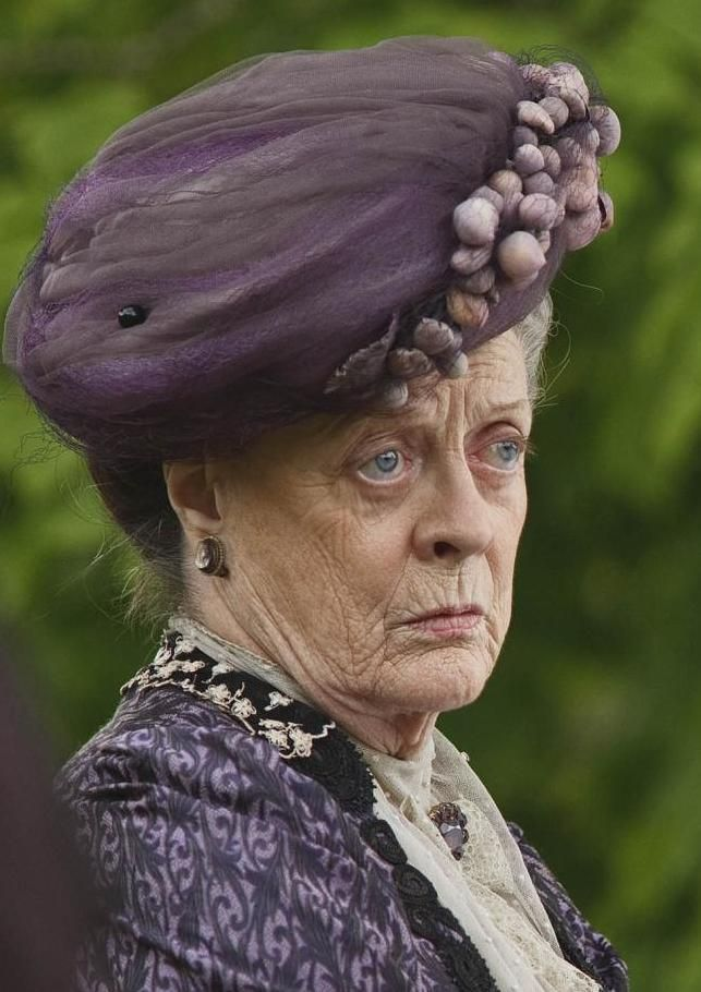Maggie Smith as Lady Violet