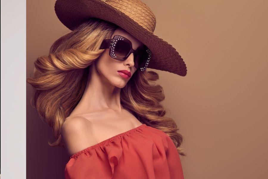 salon beach hairstyle