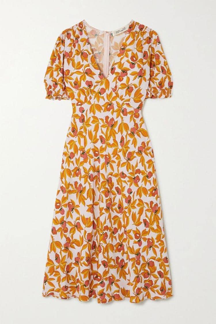 Diane Von Furstenberg Fruit dress