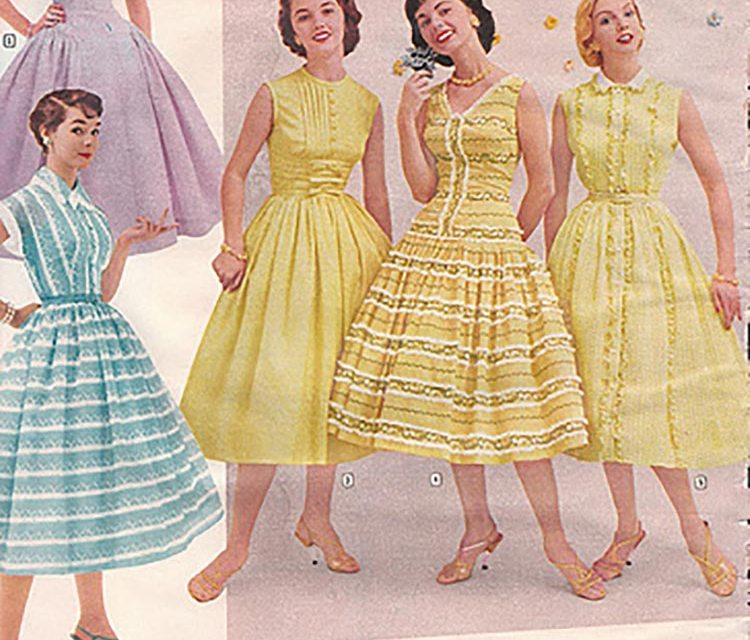 The Vintage Colour Trends of the Past – 1900s-1970s