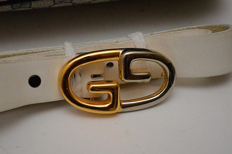 Gucci famous double-G. A logo (initially used to fasten bags) in 1953.