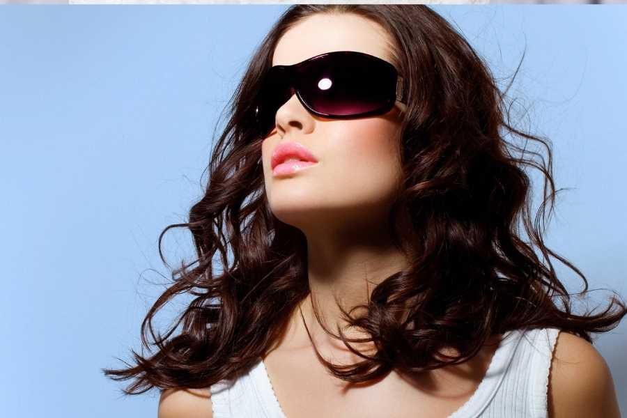 Prada's Striped Sunglasses