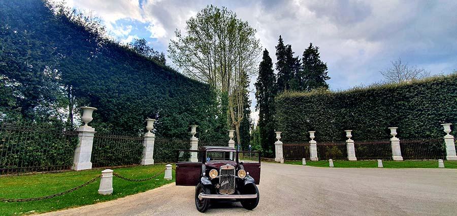 Fiat 1933 Balilla Italy Gracie Opulanza Villa Reale