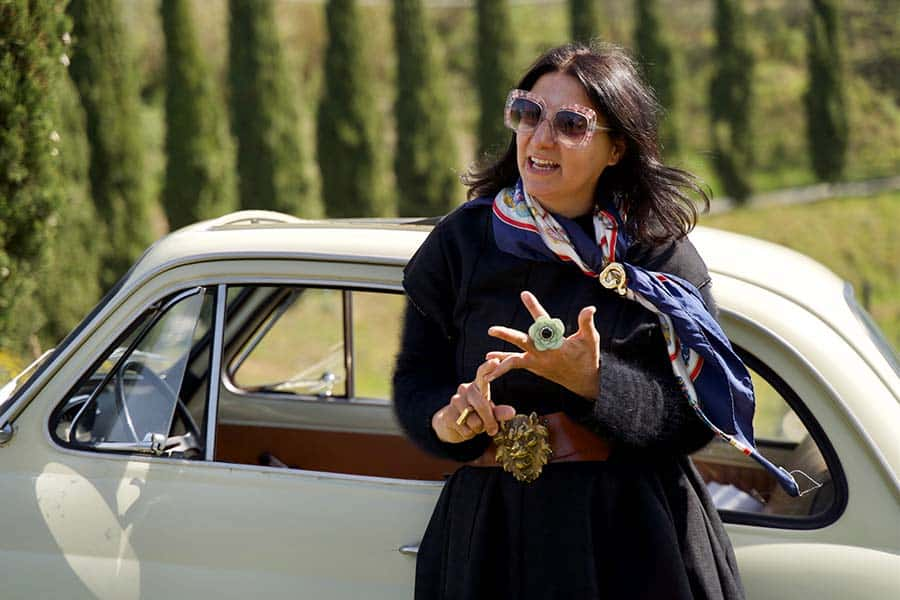 Fiat 500 - Tuscany Lifestyle Tips Fiat spider classic cars Gracie Opulanza 2021 (7)