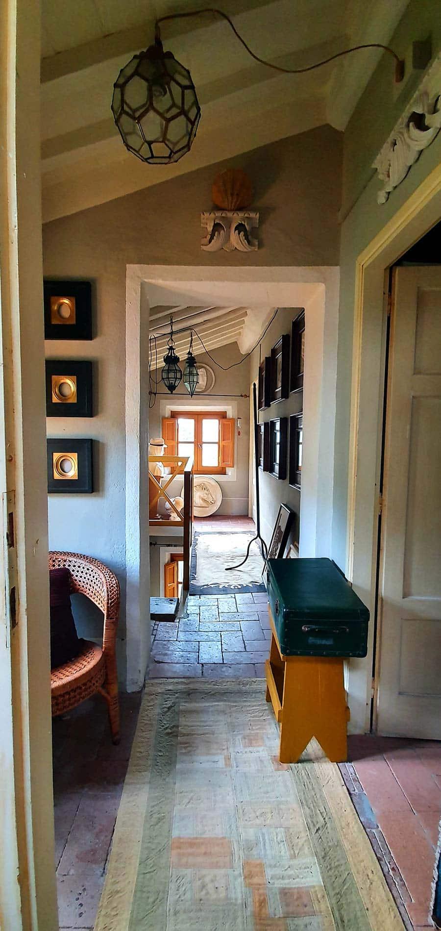 corridor picture frames