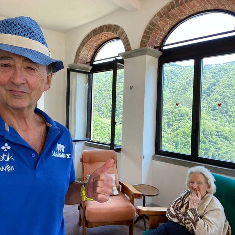 Wine & Champagne - How To Live At 94 Years Old Dario Tuscany Villa
