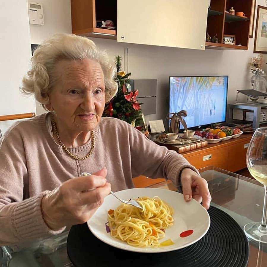 Wine & Champagne - How To Live At 94 Years Old pasta