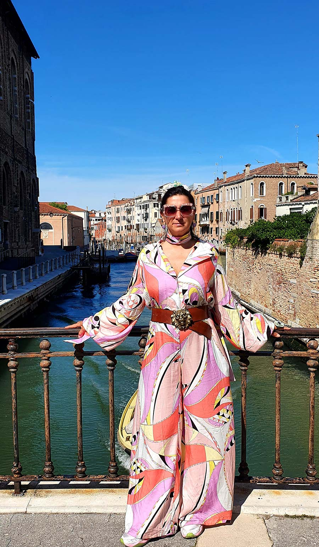 Gracie Opulanza Pucci print playsuit venice 2021 vintage (2)