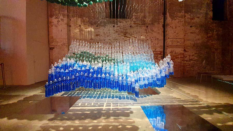 La Biennale Plastic bottle