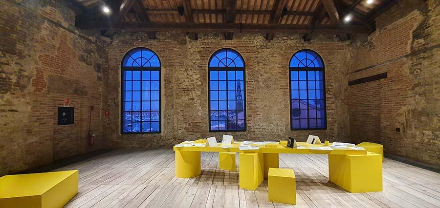 La Biennale Venice yellow